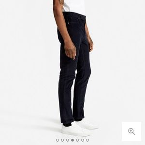 Everlane The Corduroy 5-Pocket Slim Pant in Navy